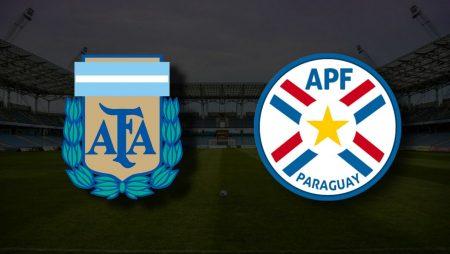 Apostas Argentina x Paraguai Copa América 21/06/21