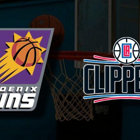 Apostas Phoenix Suns x Los Angeles Clippers Jogo 2 Playoffs NBA 22/06/21