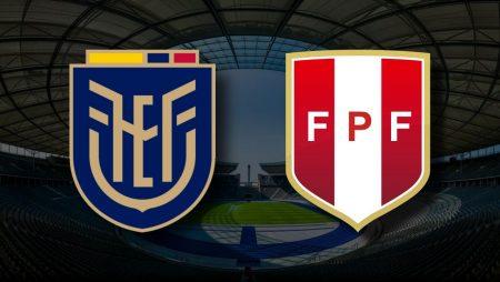 Apostas Equador x Peru Copa América 23/06/21