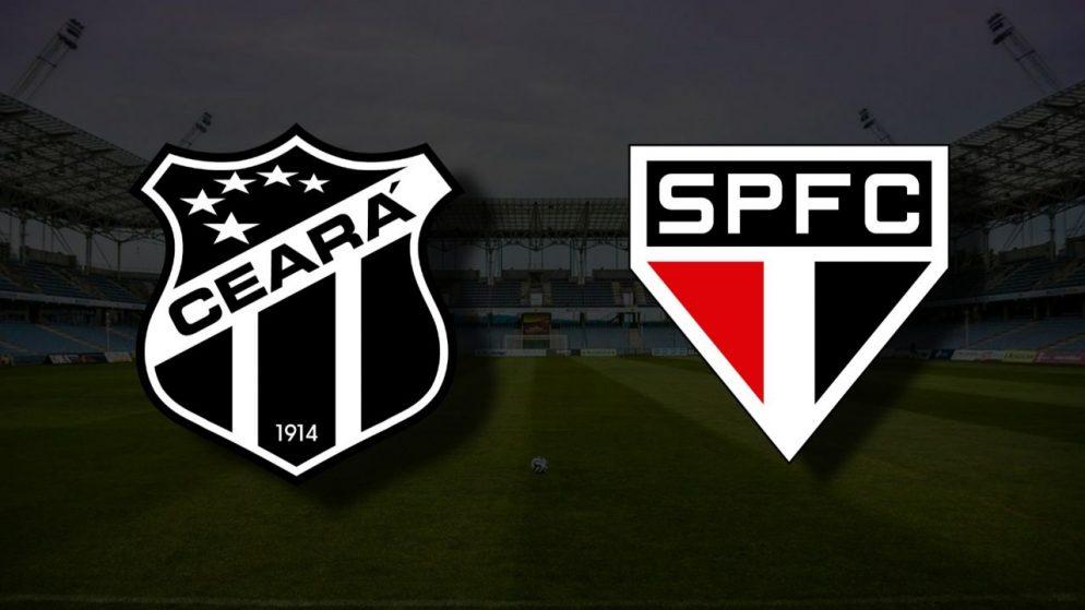 Apostas Ceará x São Paulo Brasileirão 27/06/21
