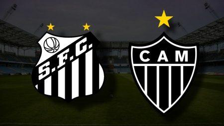 Apostas Santos x Atlético Mineiro Brasileirão 27/06/21