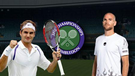 Apostas Roger Federer x Adrian Mannarino Wimbledon 29/06/21