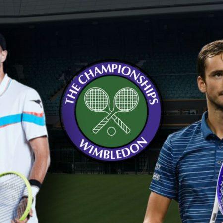 Apostas Jan-Lennard Struff x Daniil Medvedev Wimbledon 29/06/21