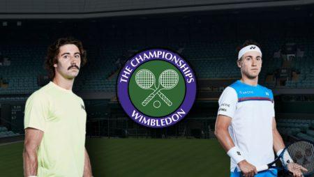 Apostas Jordan Thompson x Casper Ruud Wimbledon 29/06/21