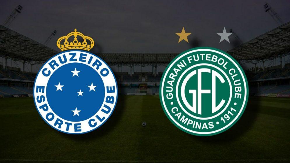 Apostas Cruzeiro x Guarani Brasileirão Série B 30/06/21