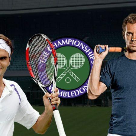 Apostas Roger Federer x Richard Gasquet Wimbledon 01/07/21