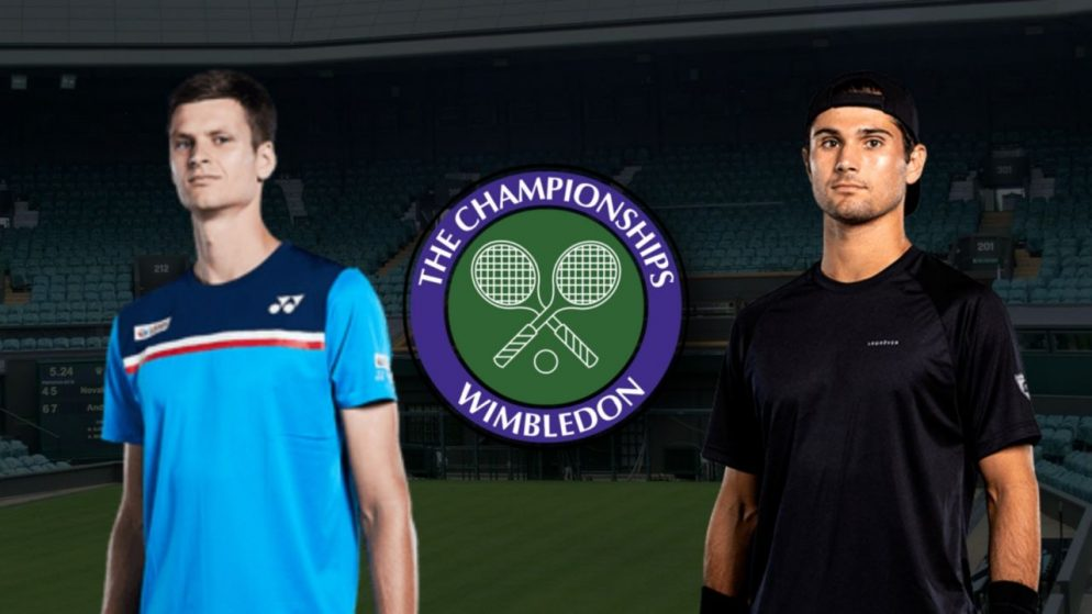 Apostas Hubert Hurkacz x Marcos Giron Wimbledon 01/07/21