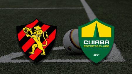 Apostas Sport Recife x Cuiabá Brasileirão 27/06/21