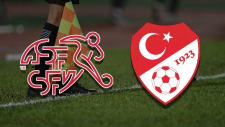 Apostas Suíça x Turquia Euro 20/06/21