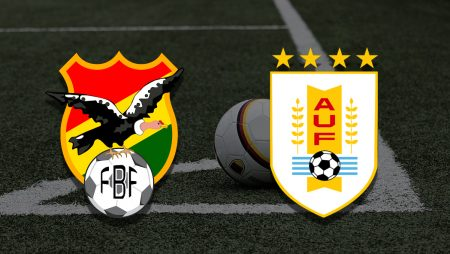Apostas Bolívia x Uruguai Copa América 24/06/21