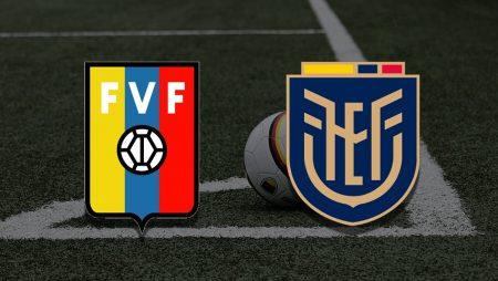 Apostas Venezuela x Equador Copa América 20/06/21