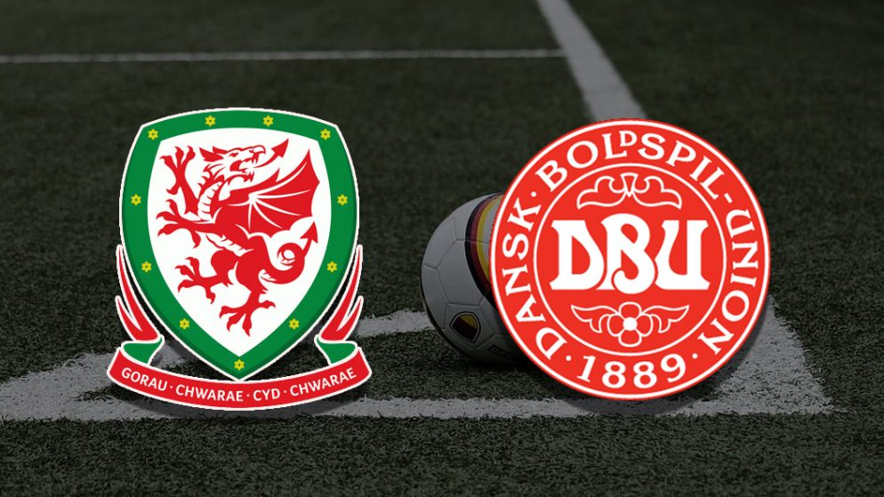 Apostas País de Gales x Dinamarca Euro 26/06/21