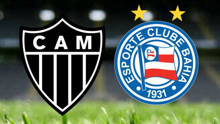 Apostas Atlético Mineiro x Bahia Brasileirão 25/07/21