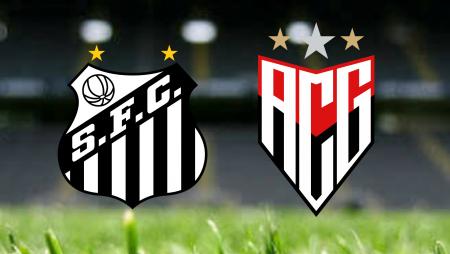 Apostas Santos x Atlético Goianiense Brasileirão 25/07/21