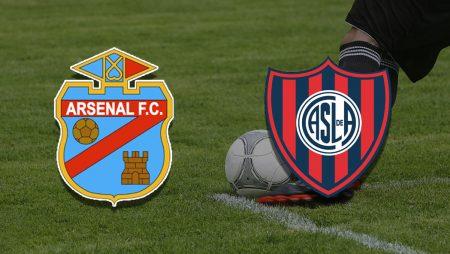 Apostas Arsenal de Sarandí x San Lorenzo Campeonato Argentino 18/07/21