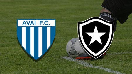 Apostas Avaí x Botafogo Série B 03/07/21