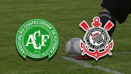 Apostas Chapecoense x Corinthians Brasileirão 08/07/21