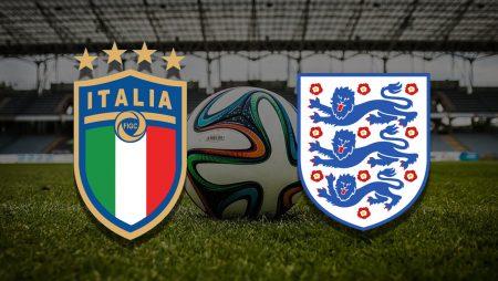 Apostas Itália x Inglaterra Final Euro 11/07/21
