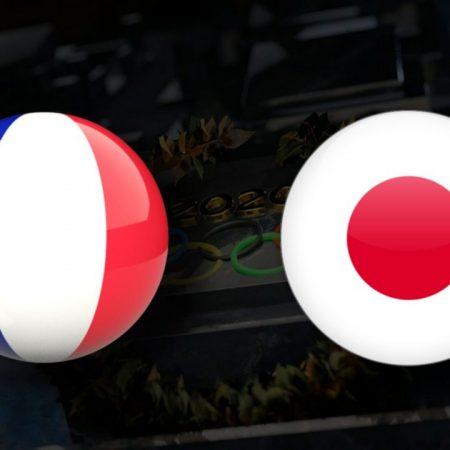 Apostas França Olímpica x Japão Olímpico Tóquio 2020 28/07/21