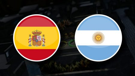 Apostas Espanha Olímpica x Argentina Olímpica Tóquio 2020 28/07/21