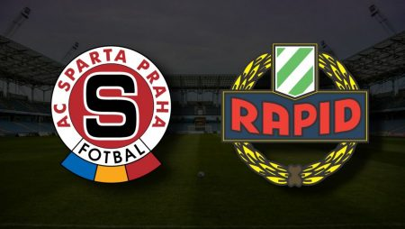 Apostas Sparta Praga x Rapid Viena Liga dos Campeões 28/07/21