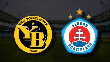 Apostas Young Boys x Slovan Bratislava Champions 28/07/21