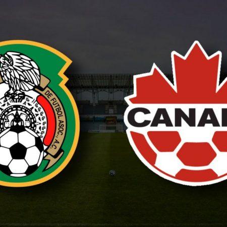 Apostas México x Canadá Copa Ouro 29/07/21