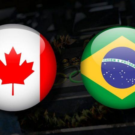Apostas Canadá Feminino x Brasil Feminino Tóquio 2020 30/07/21