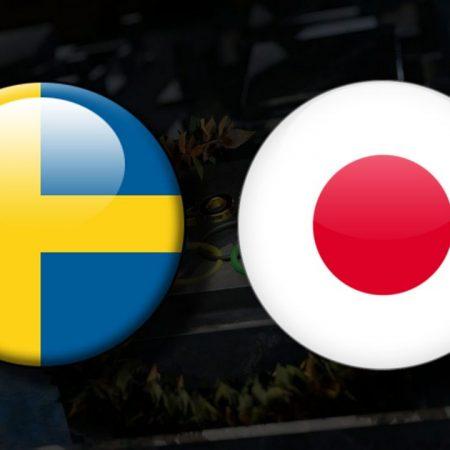 Apostas Suécia Feminino x Japão Feminino Tóquio 2020 30/07/21