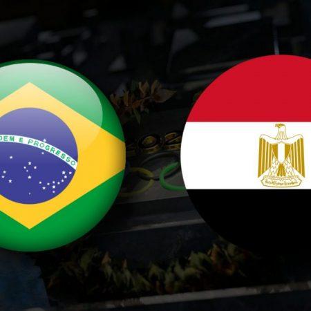 Apostas Brasil Olímpico x Egito Olímpico Tóquio 2020 31/07/21