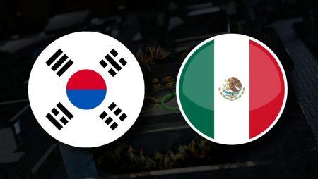 Apostas Coréia do Sul Olímpica x México Olímpico Tóquio 2020 31/07/21