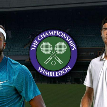 Apostas Francis Tiafoe x Karen Khachanov Wimbledon 02/07/21