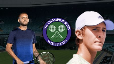 Apostas Daniel Evans x Sebastian Korda Wimbledon 02/07/21
