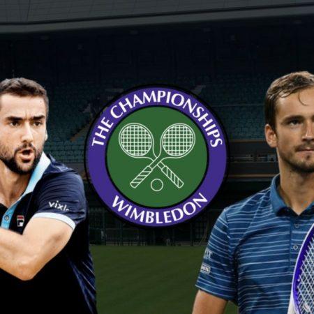 Apostas Marin Cilic x Daniil Medvedev Wimbledon 03/07/21