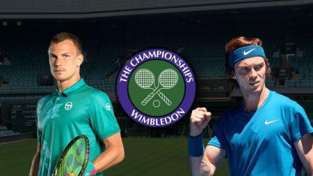 Apostas Márton Fucsovics x Andrey Rublev Wimbledon 05/07/21