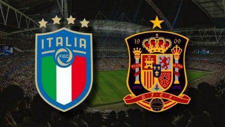 Apostas Itália x Espanha Euro 06/07/21