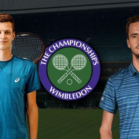 Apostas Hubert Hurkacz x Daniil Medvedev Wimbledon 05/07/21