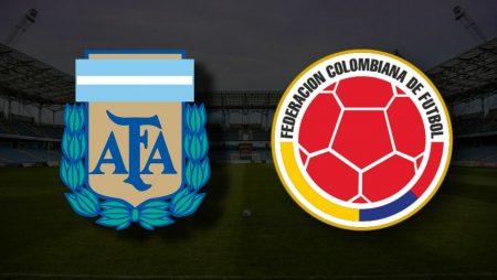 Apostas Argentina x Colômbia Copa América 06/07/21