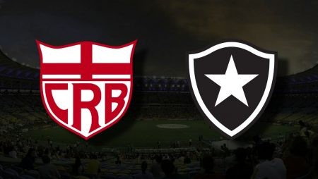 Apostas CRB x Botafogo Brasileirão Série B 06/07/21