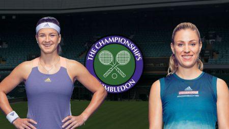 Apostas Karolina Muchová x Angelique Kerber Wimbledon 06/07/21
