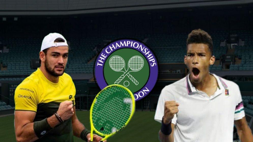 Apostas Matteo Berrettini x Felix Auger-Aliassime Wimbledon 07/07/21