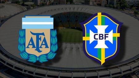 Apostas Argentina x Brasil Final Copa América 10/07/21