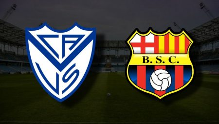 Apostas Vélez Sarsfield x Barcelona de Guayaquil Libertadores 14/07/21