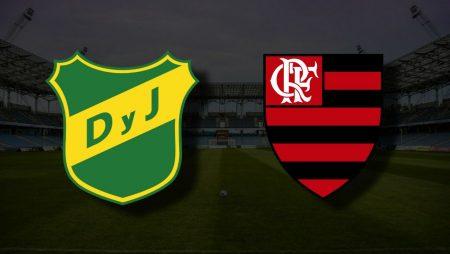 Apostas Defensa y Justicia x Flamengo Libertadores 14/07/21