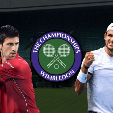 Apostas Novak Djokovic x Matteo Berrettini Final Wimbledon 11/07/21