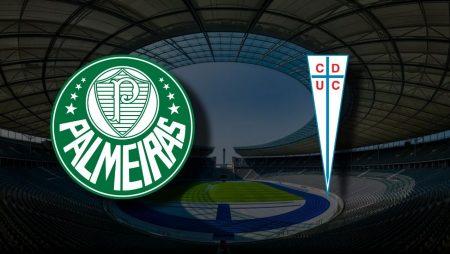 Apostas Palmeiras x Universidad Católica Libertadores 21/07/21