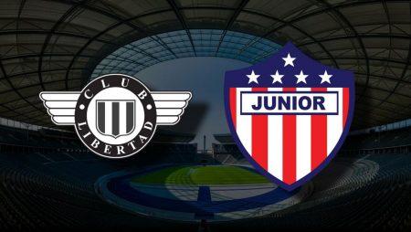 Apostas Club Libertad x Atlético Junior Sul-Americana 21/07/21