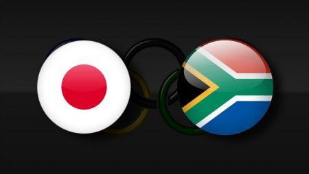 Apostas Japão Olímpico x África do Sul Olímpica Tóquio 2020 22/07/21