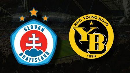 Apostas Slovan Bratislava x Young Boys Champions 21/07/21