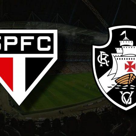 Apostas São Paulo x Vasco da Gama Copa do Brasil 28/07/21